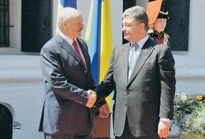 Как Лукашенко побеседовал «тет-а-тет» с Порошенко в Минске